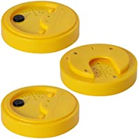 Talking Tins, grabador de voz, amarillo, 20 segundos, paquete de 3