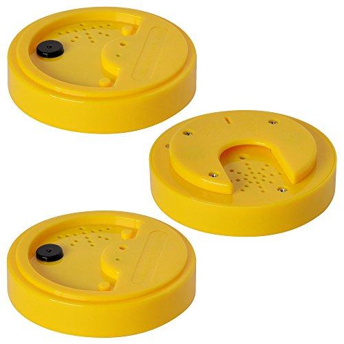 Talking Tins, Diktiergerät, Gelb, 20 Sekunden, 3er Pack