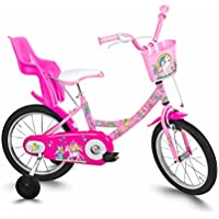 "cicli roveco Fatine, Biclicletta Bambina, Rosa, 16"""