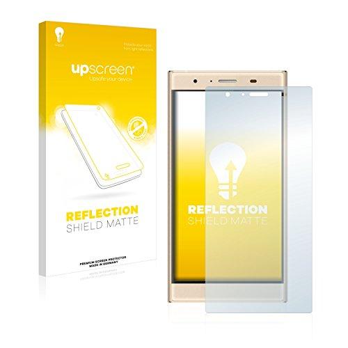 upscreen Matt Schutzfolie kompatibel mit Doogee Y300 - Entspiegelt, Anti-Reflex, Anti-Fingerprint