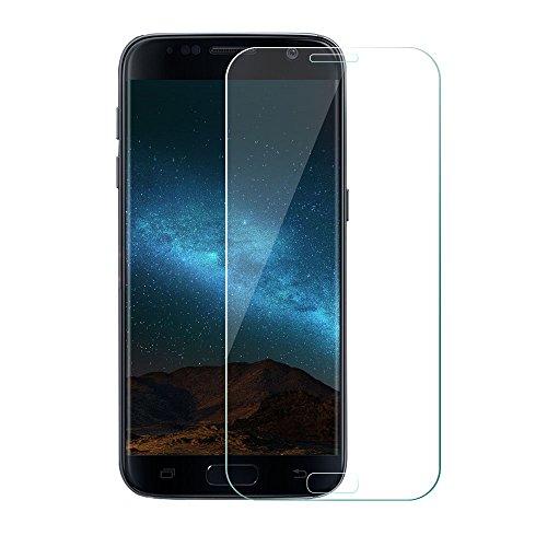 Produktbild Galaxy S7 Panzerglas Schutzfolie,  Etmury Samsung Galaxy S7 Schutzfolie Panzerglasfolie Hartglas [Blasenfreie] [Anti-Kratz] Gehärtetem Glas Displayschutzfolie Für Galaxy S7