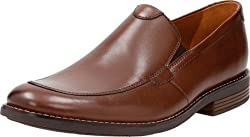 Clarks Mens Becken Step Tan Leather Clogs and Mules - 10 UK/India (44 EU)