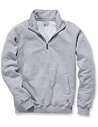Carhartt Midweight Quarter Sweat-shirt avec fermeture éclair au niveau du col–pull de travail pour homme