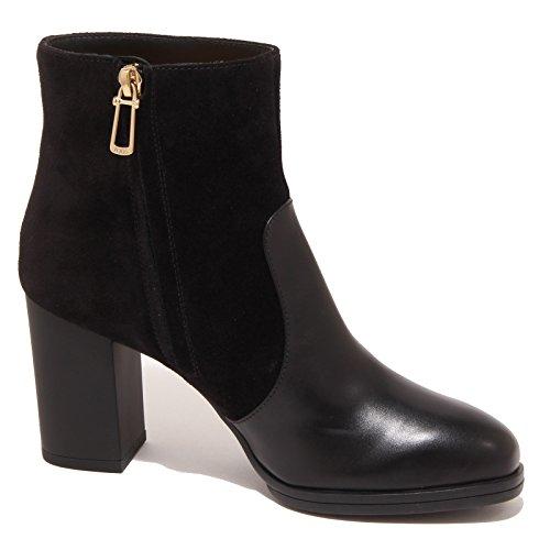 3217P tronchetto TOD'S UP nero stivaletto donna boot women Nero
