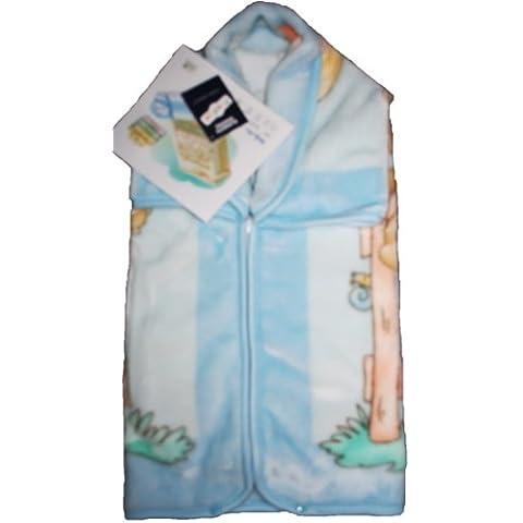 babysac Cover Bambino Ragazzo 3in 1–N. 628Orsetti e palloncini–Blu