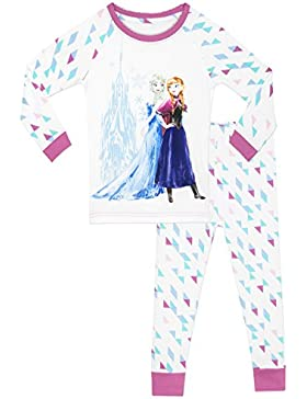 Disney Frozen - El reino del hielo - Pijama para niñas - Frozen - Ajuste Ceñido