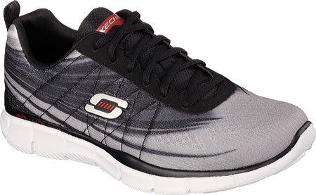 SKECHERS - Equalizer Split Up - Herren Sneaker - Grau/Schwarz Schuhe in Übergrößen Grau