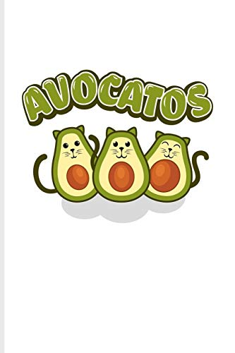 Avocatos: Funny Vegetables Puns Journal | Notebook | Workbook For Cute Cats, Vegan Cooking, Vegetarians, Nutrition Of Avocado Oil, High Fat & Veggie Recipies Fans - 6x9 - 100 Graph Paper Pages