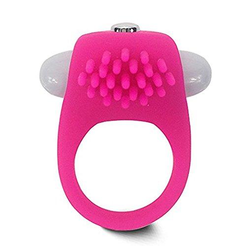 nde Penis Ring Portable Silikon Klitoris stimulieren Vibrationsverzögerung Cock Ring für Erwachsene Paare und Liebhaber (Weibliche Assistenten)
