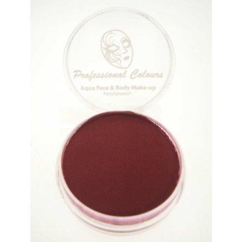 AQUA - Schminke Burgundy red ( Burgund rot ) 10g