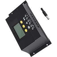 30A Regulador Solar Regulador de Carga Solar LCD Genetador Solar Panel Solar Regulador de Carga Negro
