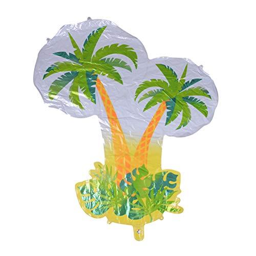 FADACAI 1 Stücke Palm Tree Balloon Große Tropische Palm Tree Folienballon Für Sommer Strand / Party / Geburtstag / Hochzeitsdekoration Ballons Spielzeug