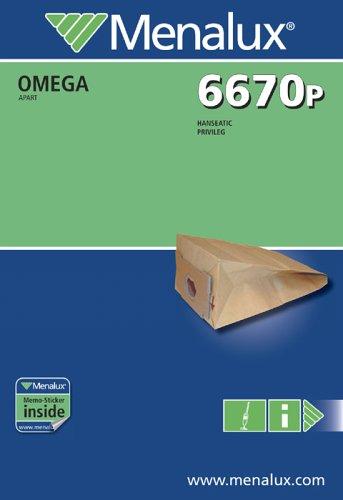 Menalux 6670 P, 5 Staubbeutel