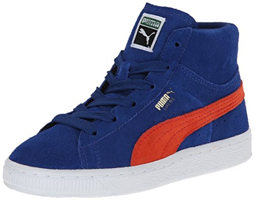Puma Classic Mid Navy Youths Trainers - 356626-04 Marine