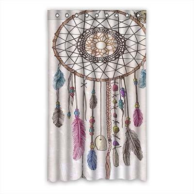 """dalliy personalizado Atrapasueños cortina de ventana poliéster 50""""X84"""" sobre 127cm x 213cmcm (una sola pieza), poliuretano, C, 50"""" x 84"""""""