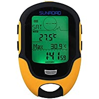 Home Care Großhandel von® Multifunktions Digital Höhenmesser Barometer Kompass für Outdoor Sports (Sunroad Modell fr-500)