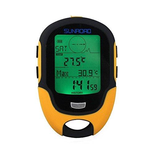 Home Care Großhandel von® Multifunktions Digital Höhenmesser Barometer Kompass für Outdoor Sports (Sunroad Modell fr-500) -
