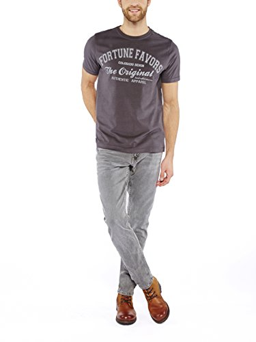 Colorado Denim Herren T-Shirt Rufus Grau (CASTLEROCK 9112) ...