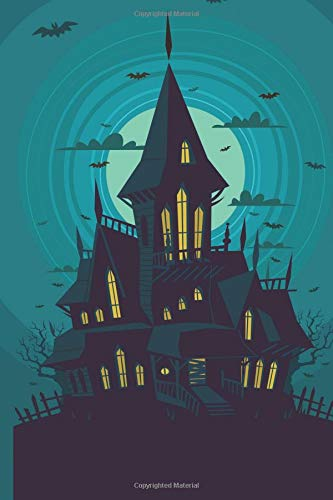 Haunted Halloween Manor Notebook: 150 page Notebook Journal Diary (Spookies 150 Blank Notebooks, Band 68)