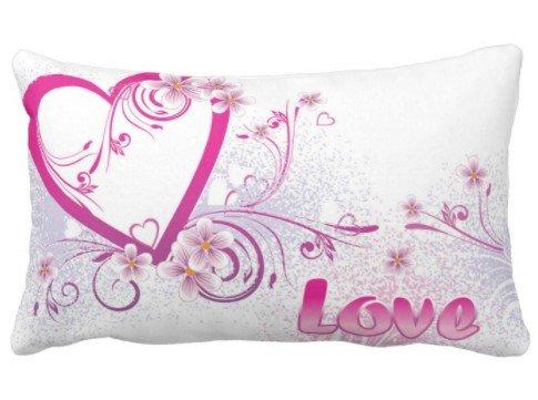 (perfecone Heimwerker Kissenbezug Ideen für Freund Valentinstag Card Design für Sofa und Auto Kissenbezug 1 Packung 19.68x25.6 Zoll)
