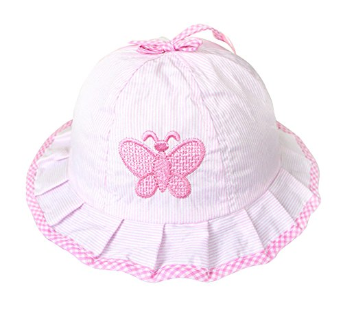 KAIKSO-IN Stilvolle Baby-Kleinkind-Sun-Hut-Kappe Sommer Cotton Hat (Rosa)