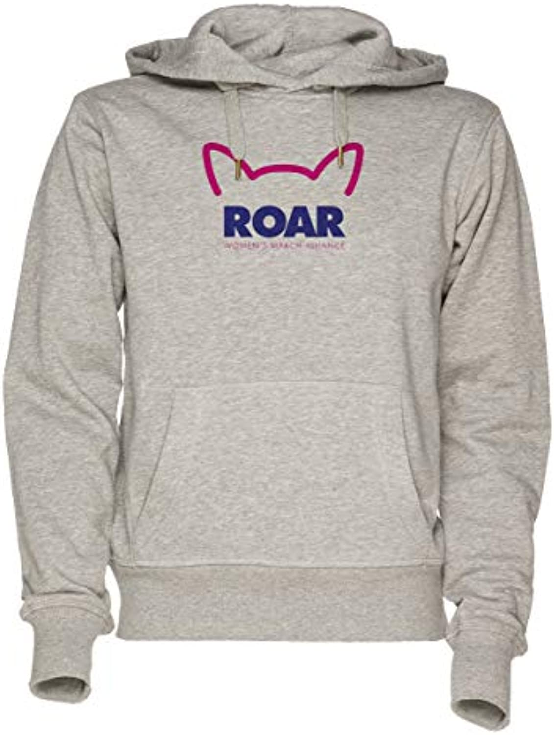 Jergley Roar Wouomo March Alliance Unisex Grigio Felpa Donna con Cappuccio  Uomo Donna Felpa Hoodie for f52c53af9a25