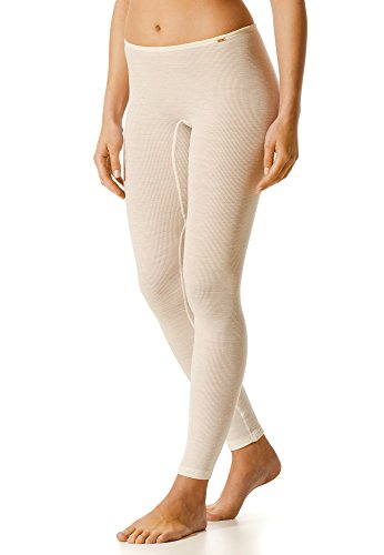Mey Basics 'Softwool Base' Damen Leggings Weiß 38