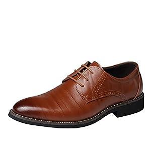 [EU39-EU46] ODRD Schuhe Klassischer Stil Männer Casual und Business Leder Schuhe Stiefel Stiefeletten Wanderstiefel Combat Hallenschuhe Worker Boots Laufschuhe Sports