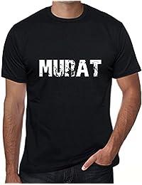 Murat Homme T-shirt Noir Cadeau D'anniversaire