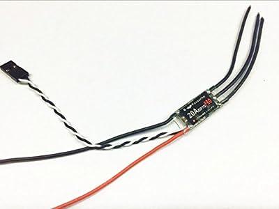 FVT Little Bee 20A PRO 2-4S ESC BL HELI ONESHOT F396 MCU FPV RACING DRONE ESC