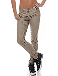 Urban Surface Damen Stretch Chino Hose LUS-073/104/110 Boyfriend-Style