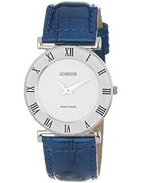 Jowissa J2.011.M - Reloj analógico para mujer de cuero blanco