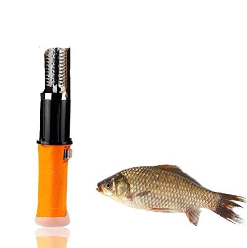 Elektrische Fischschuppen Kommerziellen Lithium Ion Cordless Quick Fischhaut Scaler Rechargeble Waterproof Schaber Werkzeug Für Fische