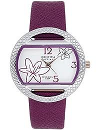 Exotica Analog Purple Dial Women's Watch
