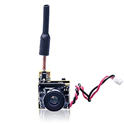 Gotoqomo GT05 AIO 600TVL Micro Camera 48CH 25mW FPV Transmitter with Dipole Antenna for Indoor FPV Drone Like Blade Inductrix Tiny Whoops