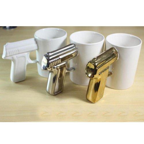 Pistol Cup Handle Cup Gun Handle Coffee Cup Ceramic Mug