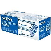Brother TN6300 - Tóner negro (duración estimada: 3.000 páginas A4 al 5% de cobertura)