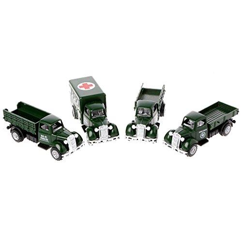 Senoow Operation Van Vintage Fahrzeuge Modell Kinder Spielauto Rollenspiel Action