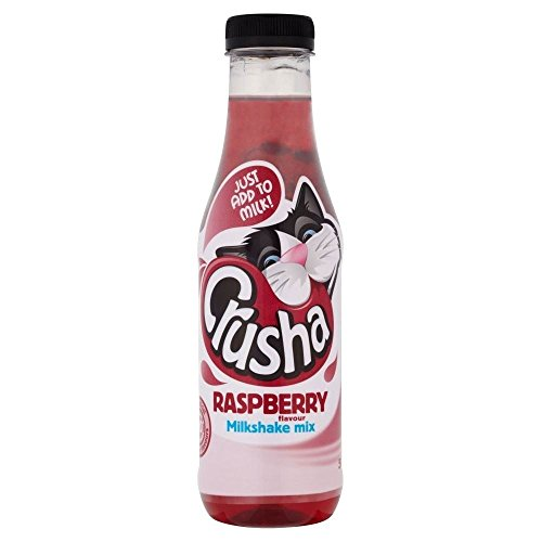 Crusha Saveur De Framboise Mixa Milk-Shake Mix (500Ml)