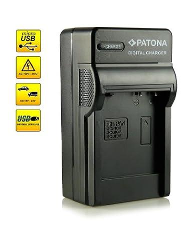 4in1 Chargeur DMW-BCG10E pour Panasonic Lumix DMC-TZ6