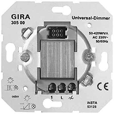Gira 030500 System 2000 Universal-Dimm-Einsatz von Gira bei Lampenhans.de