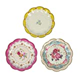 Talking Tables TS3-PLATE Truly Scrumptious Plates, Papel, 7'