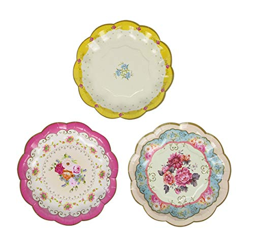 Talking Tables ts3-plate Truly Scrumptious plates, 7 \