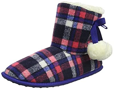 Rocket Dog Women's Snowflake Hi-Top Slippers