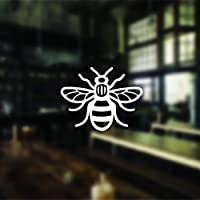 2 Manchester Bee Car Stickers Manchester Bee Sticker Decal Window Bumper Manchester Bee Sticker Phone Sticker with 2 FREE
