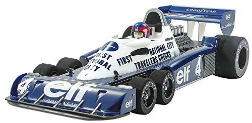 TAMIYA 47392 47392-1:10 RC Tyrrell P34 Monaco lackierte Karosserie, ferngesteuertes Auto/Fahrzeug, Modellbau, Bausatz, Hobby, Zusammenbauen, weiß