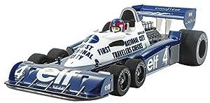 Tamiya 47392 47392-1:10 RC Tyrrell P34 Monaco - Coche teledirigido para construcción de maquetas, Color Blanco
