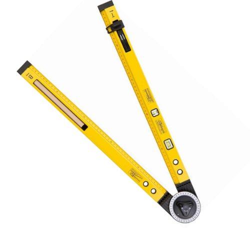 Winkelmesser, mit Wasserwaage, Messgerät bis 270°, winkel