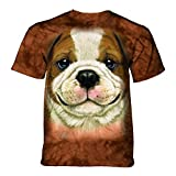 Best The Mountain Friend Funny Shirts - The Mountain Unisex Adult Big Face Bulldog Puppy Review