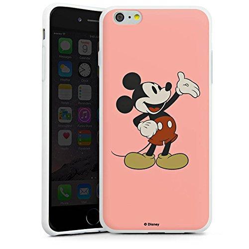 Apple iPhone X Silikon Hülle Case Schutzhülle Disney Mickey Mouse Classic Geschenke Merchandise Silikon Case weiß